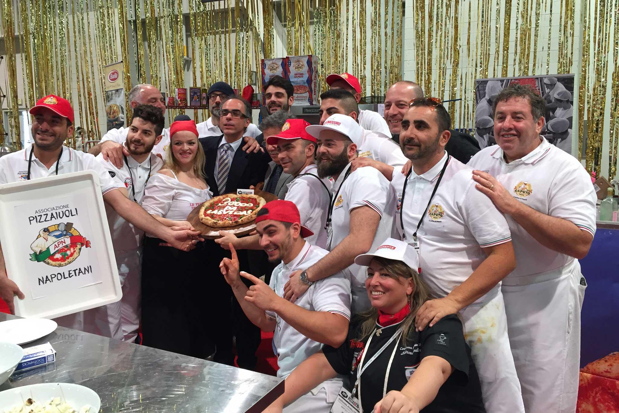 gruppo pizza Caputo Las Vegas