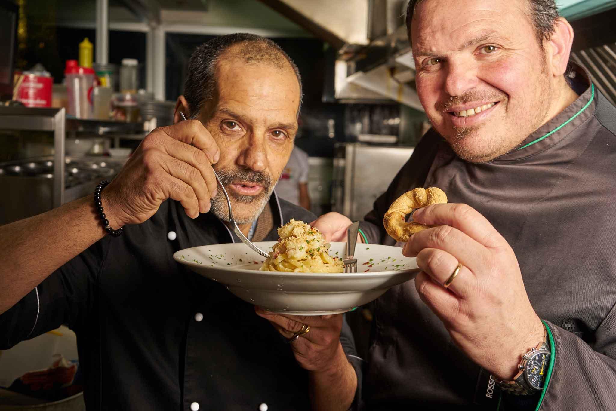 linguine di gragnano con cavolo chef