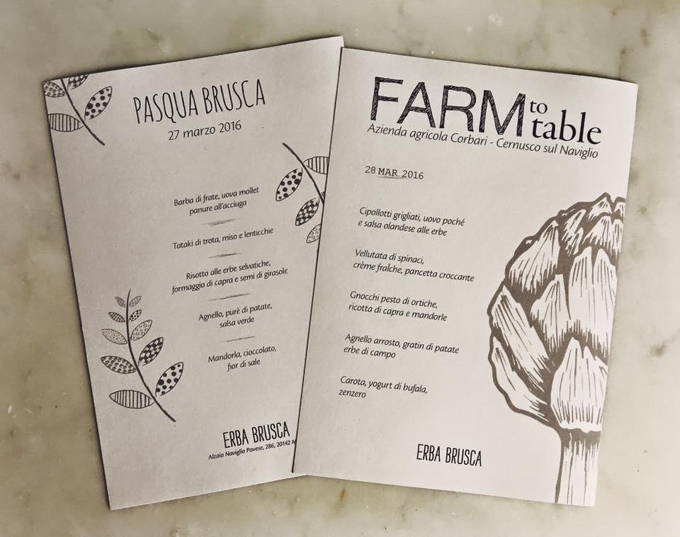 menu Erba Brusca