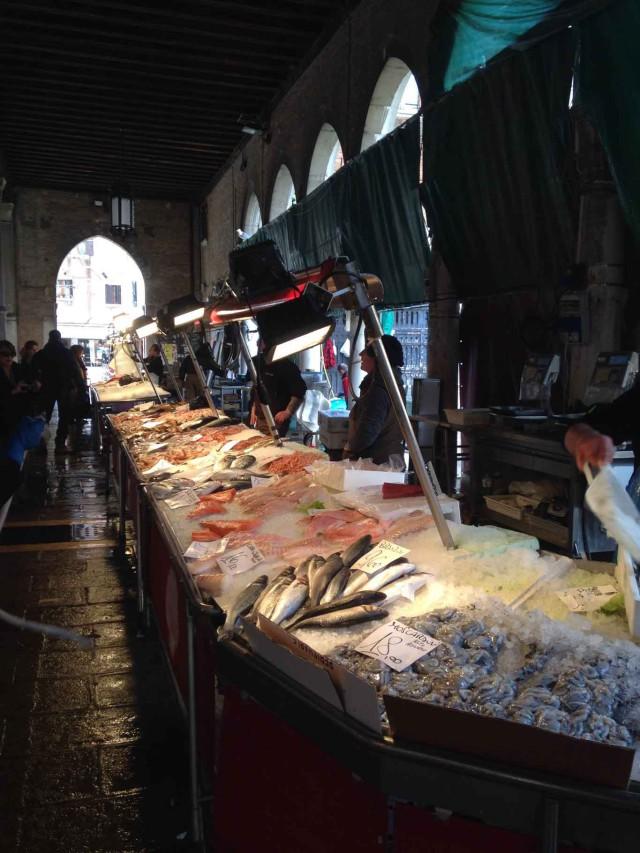 Mercato pesce venezia