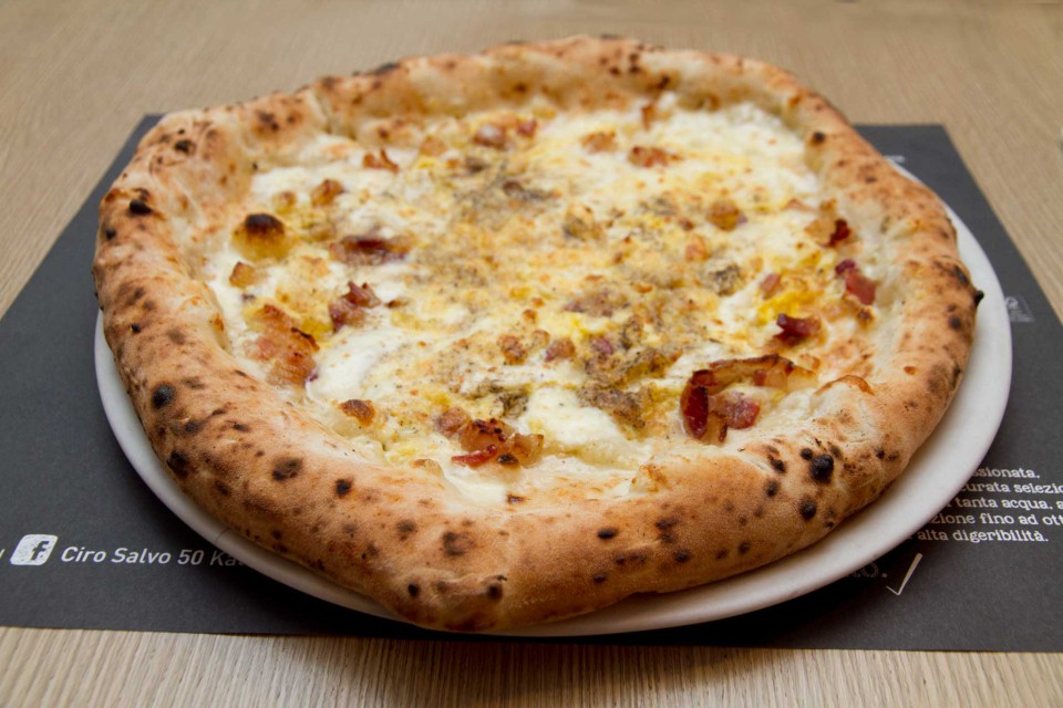 pizza Carbonara