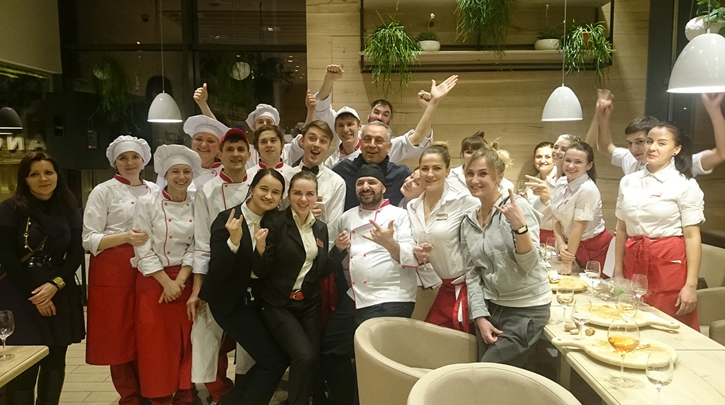 pizza Enzo Coccia a Kiev