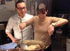 Gino Sorbillo sdogana definitivamente la pizza fritta con Benedetta Parodi