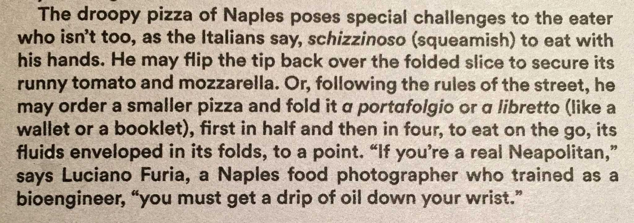 pizza libro Daniel Young Luciano