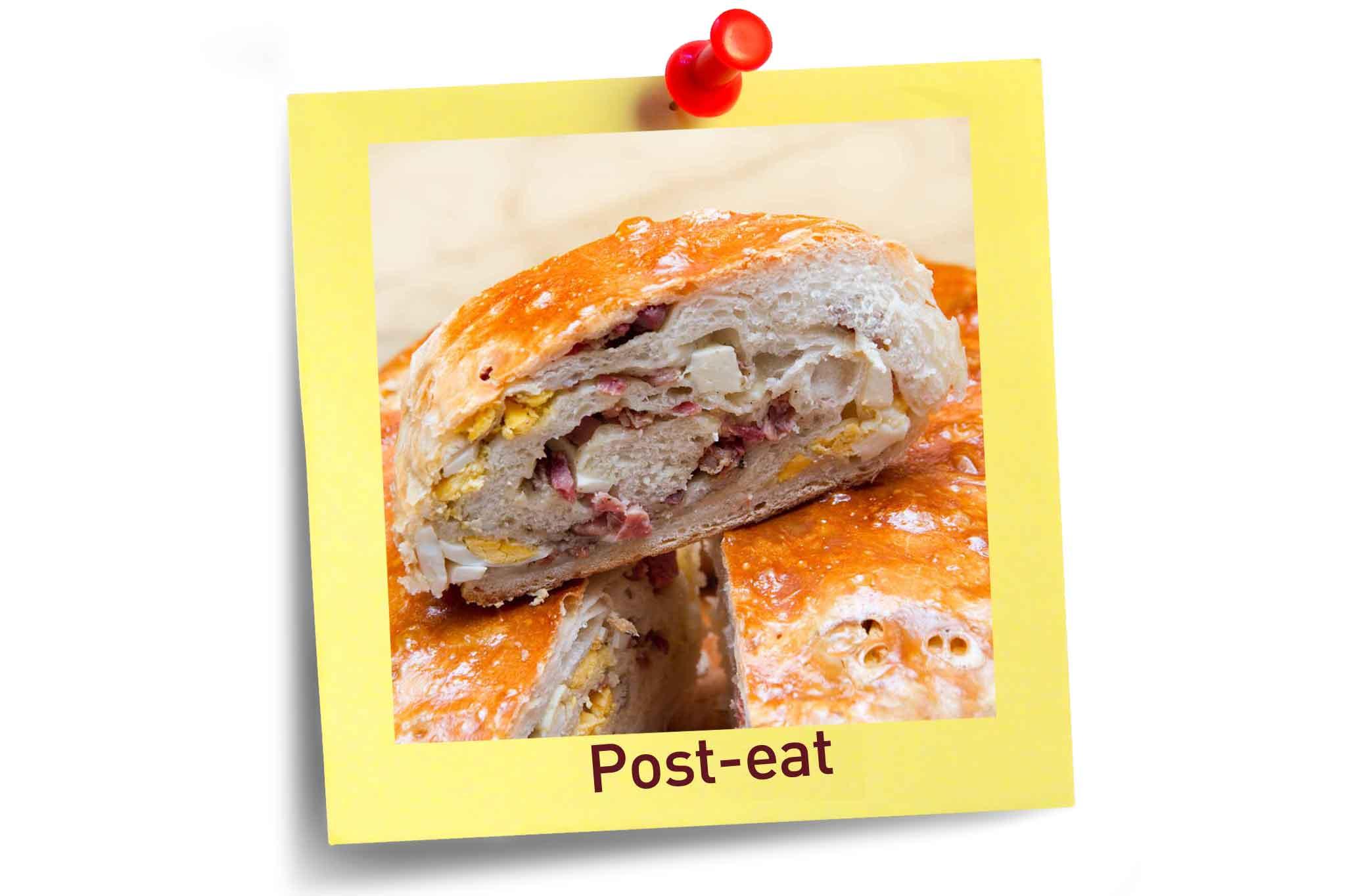 tortano Post eat
