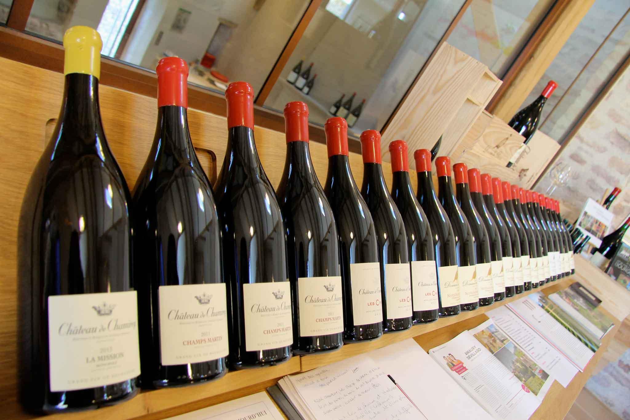 vino Chateau de Chamirey