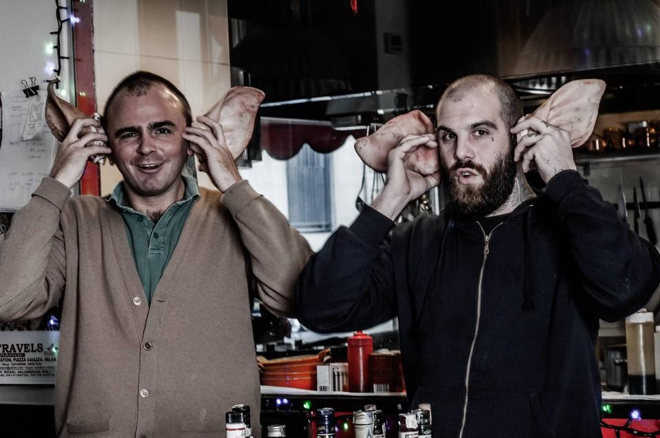 Beniamino Nespor e Eugenio Roncoroni ph Adriano Mauri
