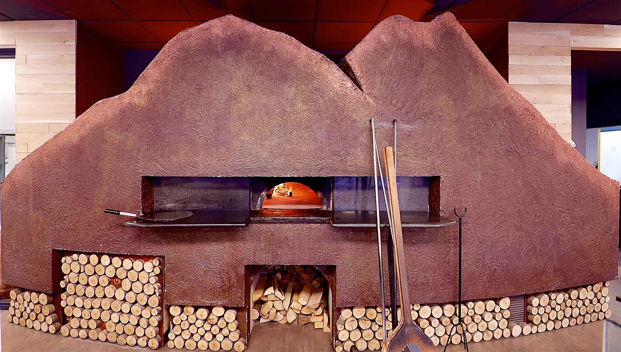 Condurro forno a legna pizza