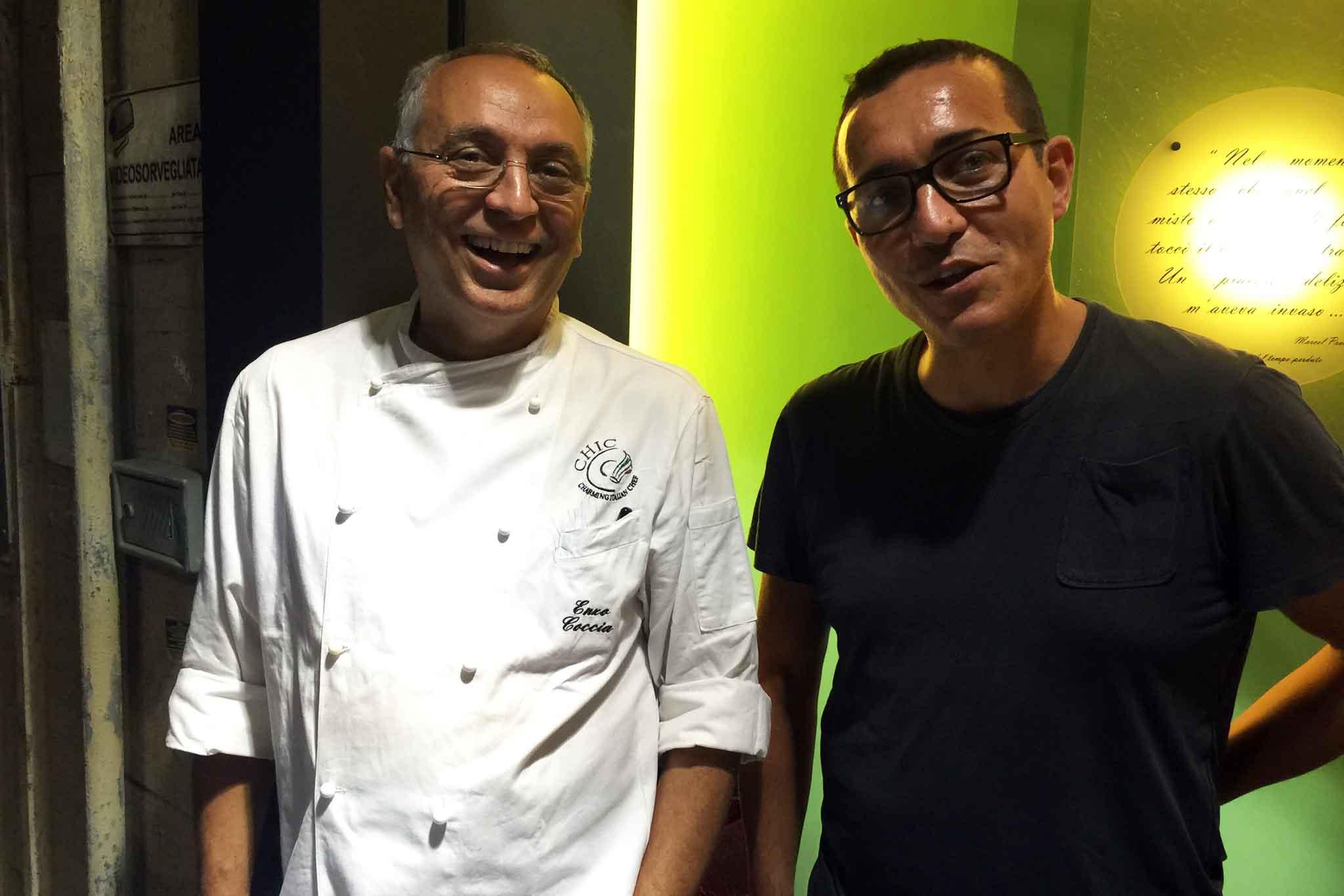 Enzo Coccia e Gino Sorbillo