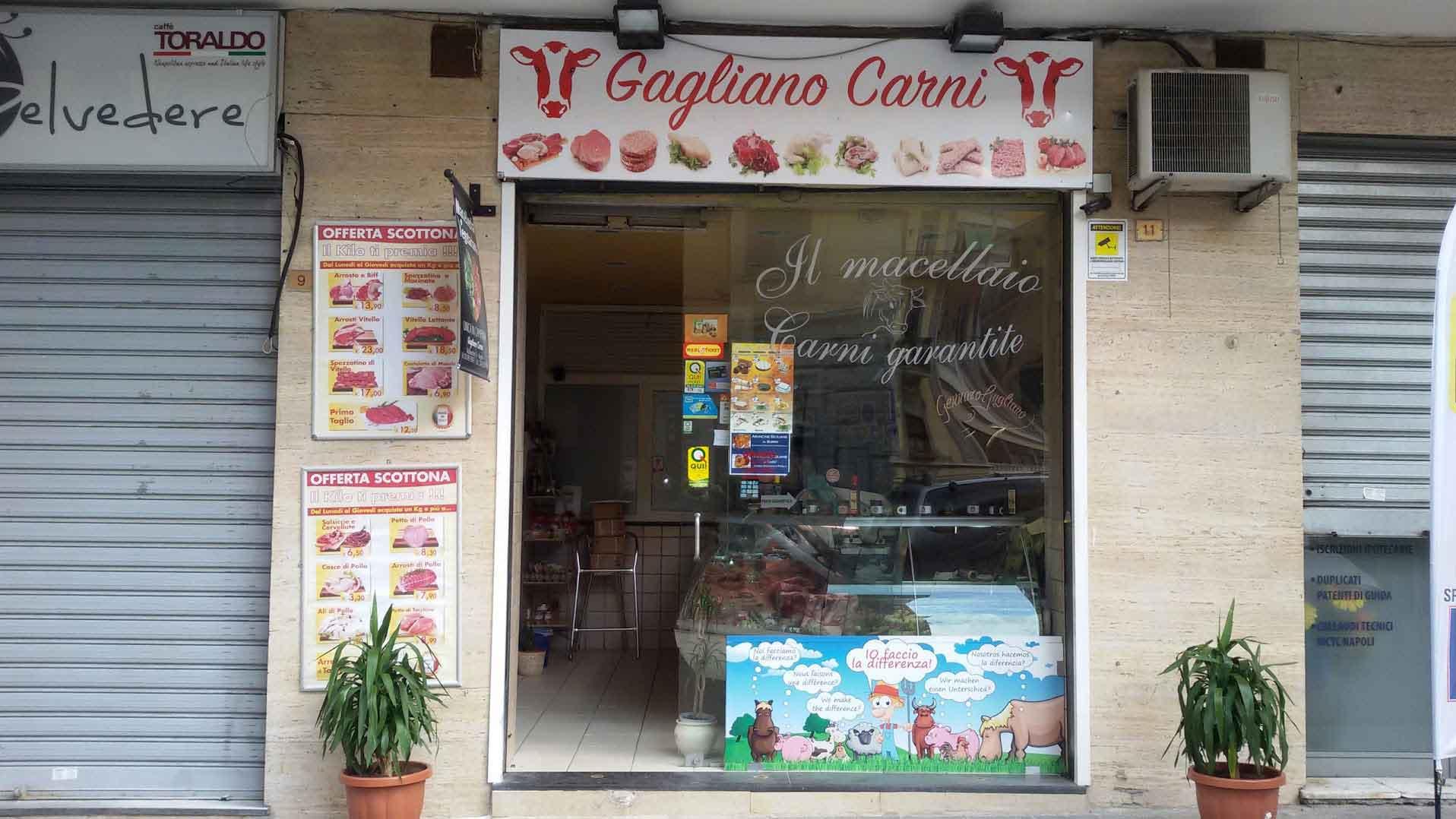 Gagliano macelleria vegana Napoli