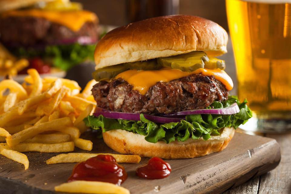 Hamburger Cow Burger Milano