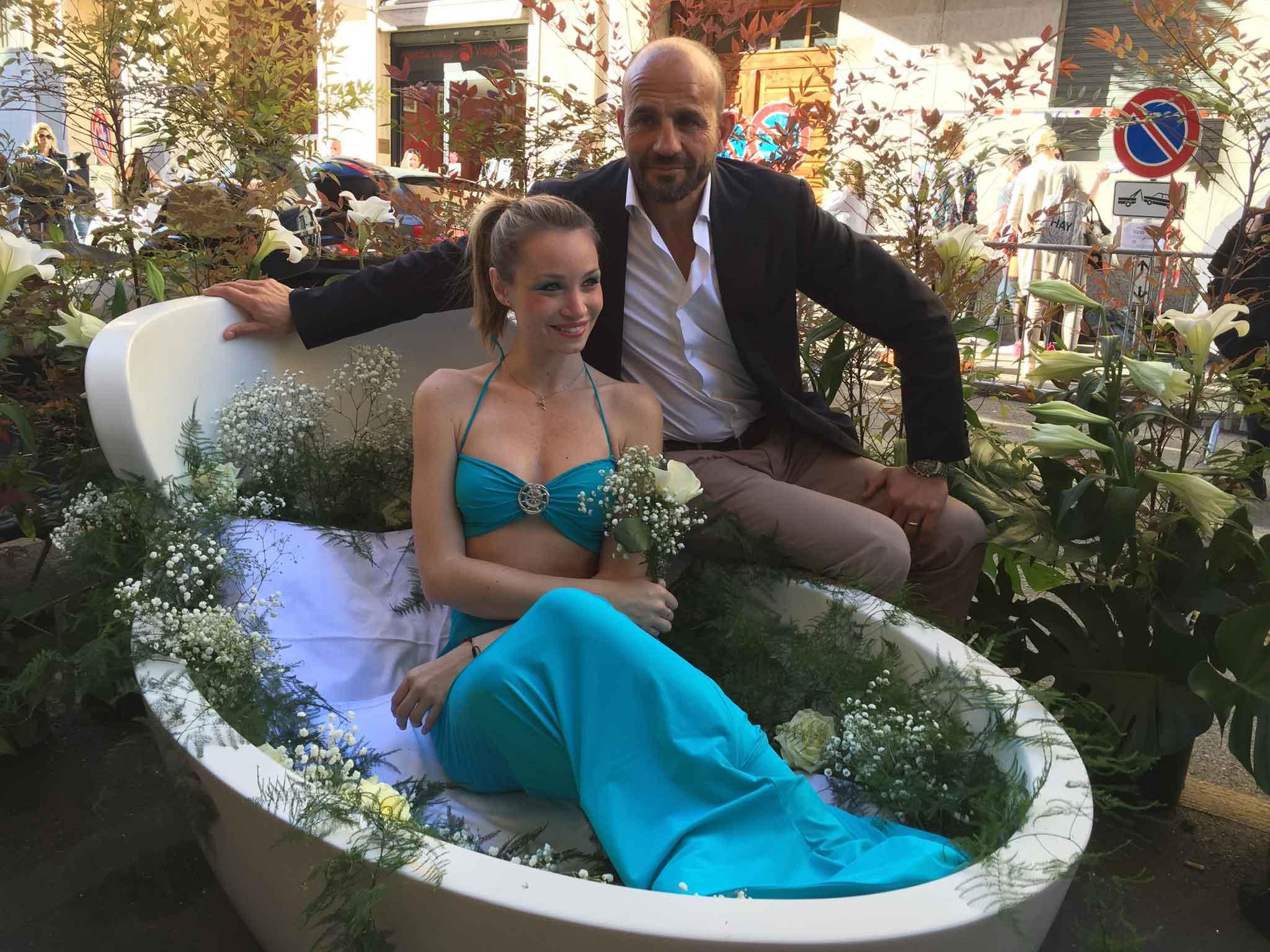 La Sirena e Franco Manna
