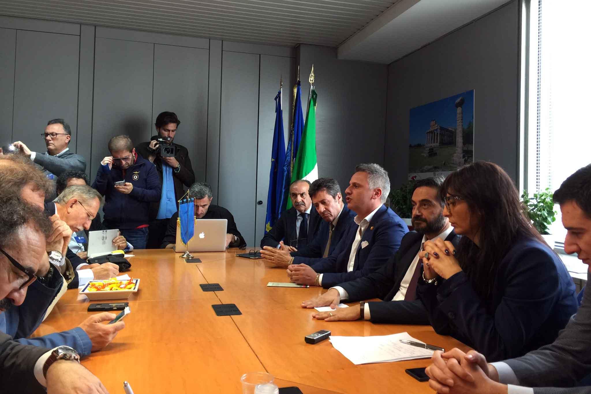 OFF Ottaviano conferenza stampa