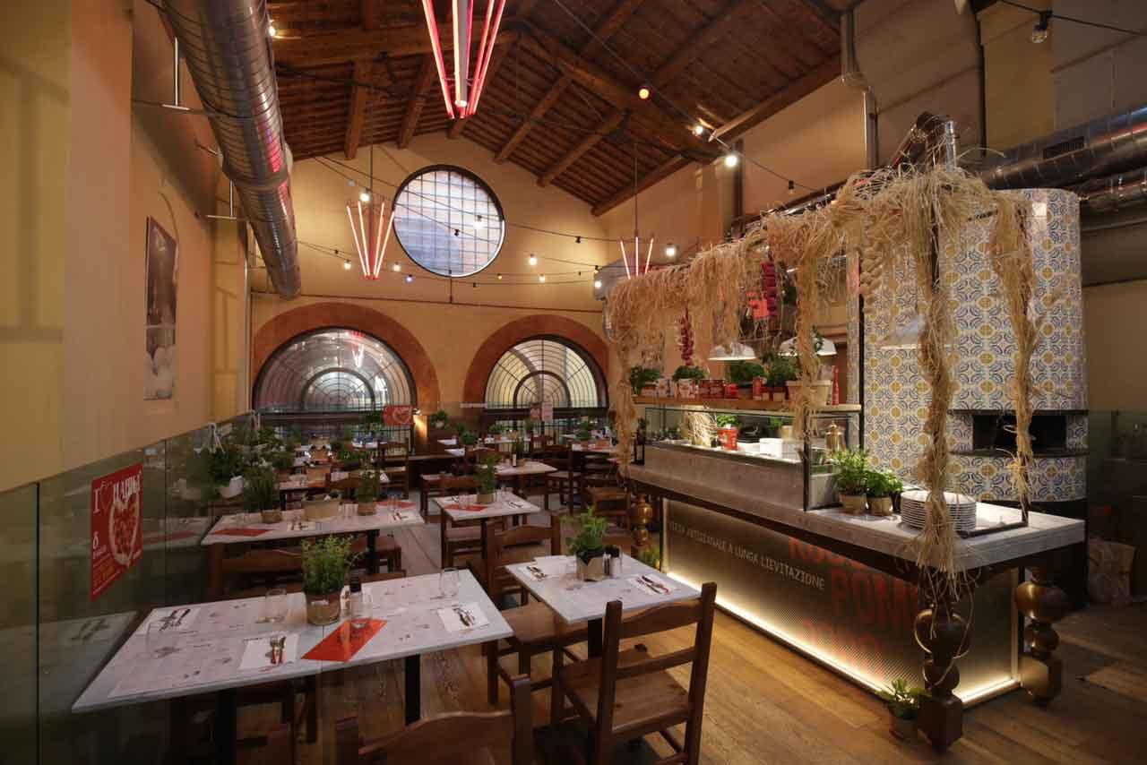 Rossopomodoro pizzeria Bologna Mercato di Mezzo