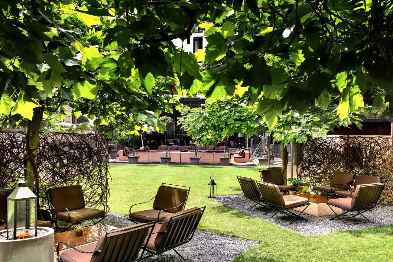 Milano 22 dehors mozzafiato per un aperitivo all 39 aperto for Arredo giardino milano