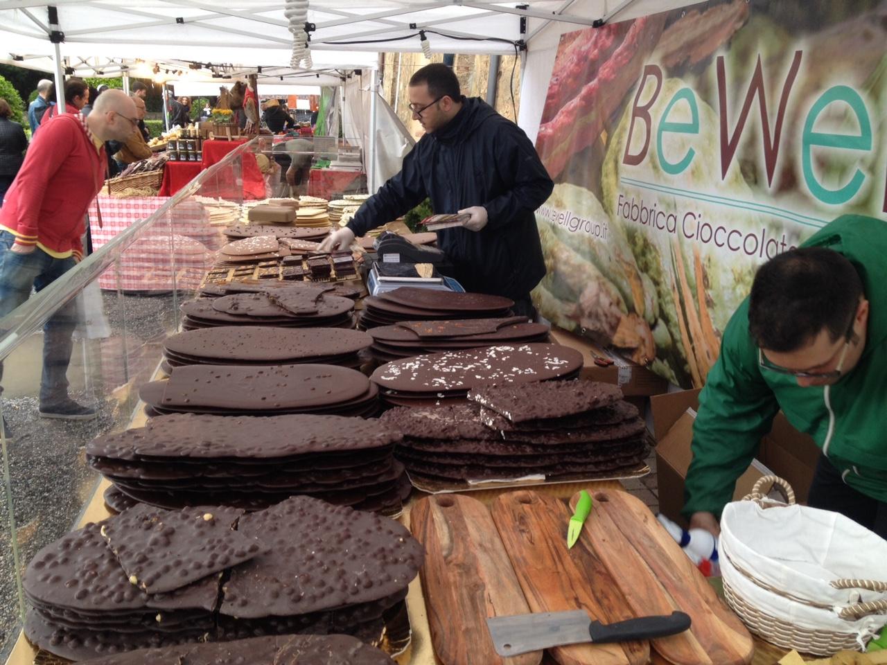 cioccolato lastre