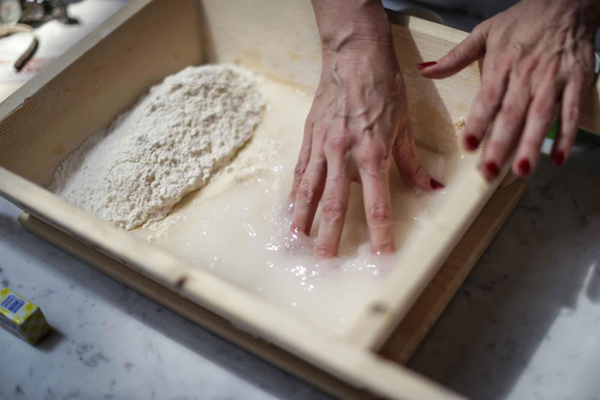 farina e acqua