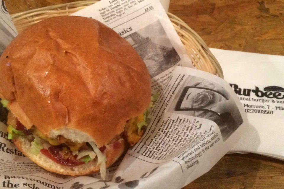 hamburger Burbee Milano