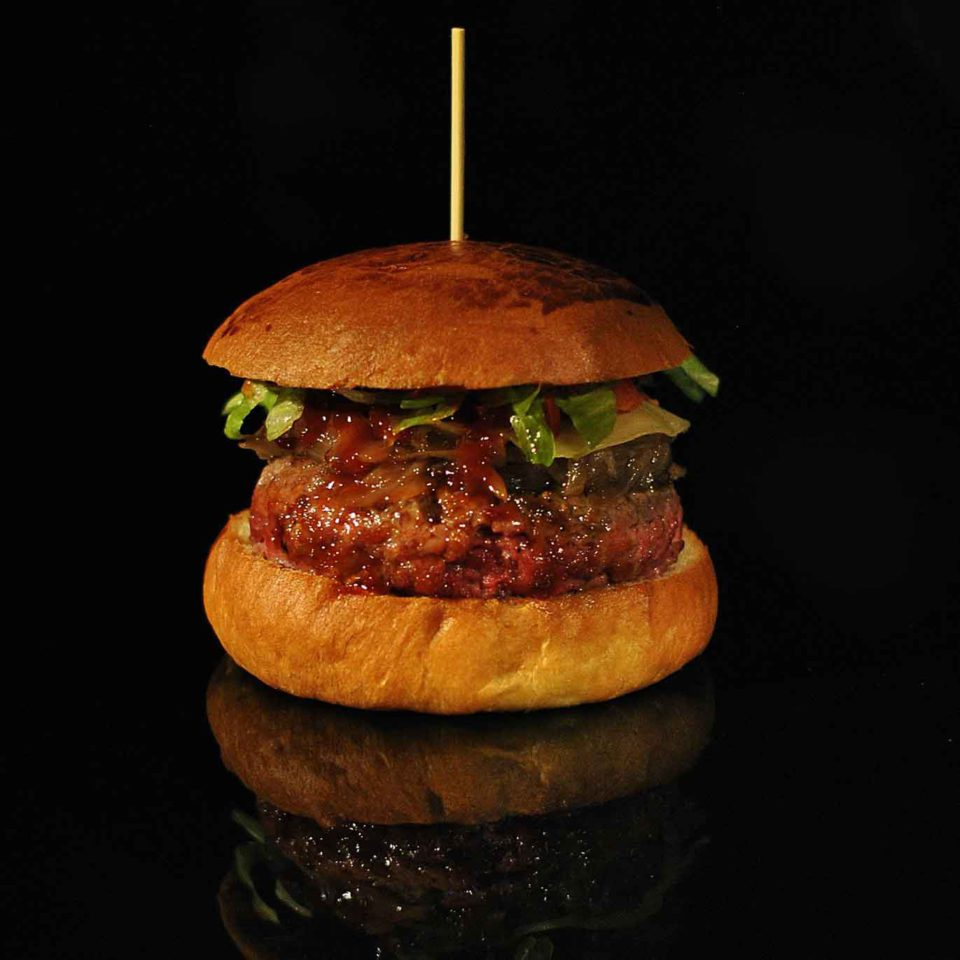 hamburger Mezza Libra Milano
