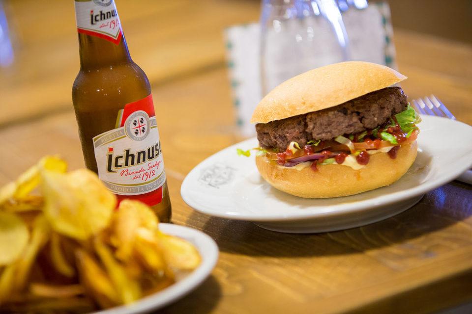 hamburger Polpa Burger