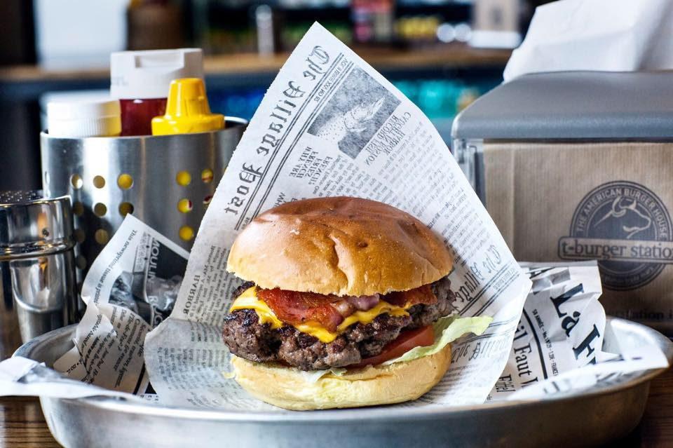 hamburger T-Burger Station Milano