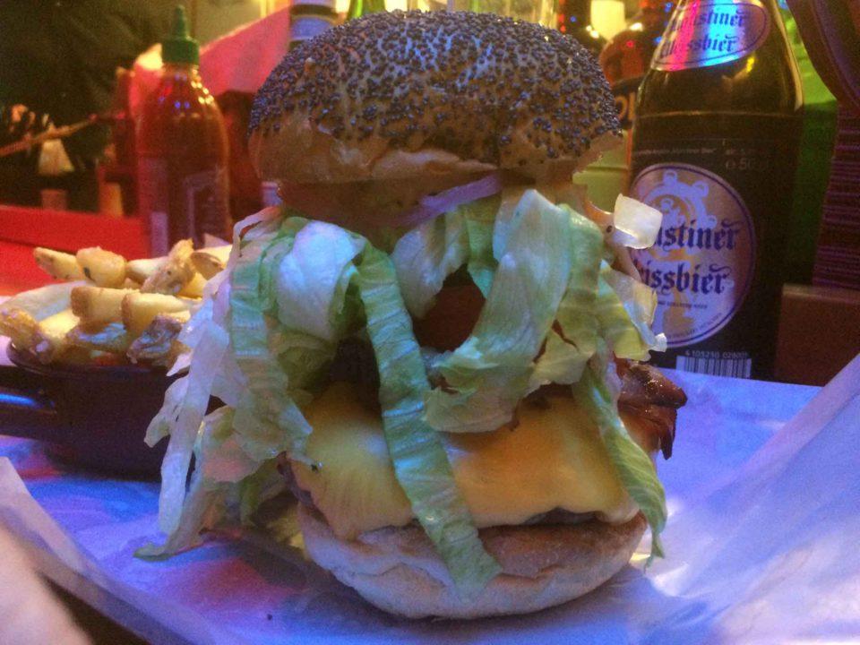 hamburger al Mercato Milano