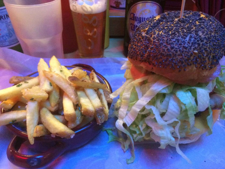 hamburger al Mercato patatine Milano