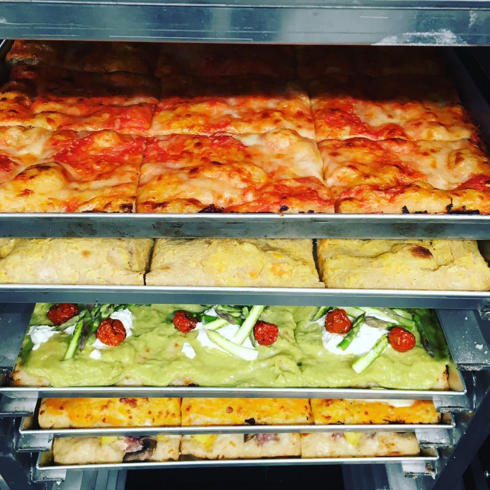 mozzabella pizza