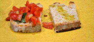 Pane e olio è la merenda che scatena una Tempesta di sapori