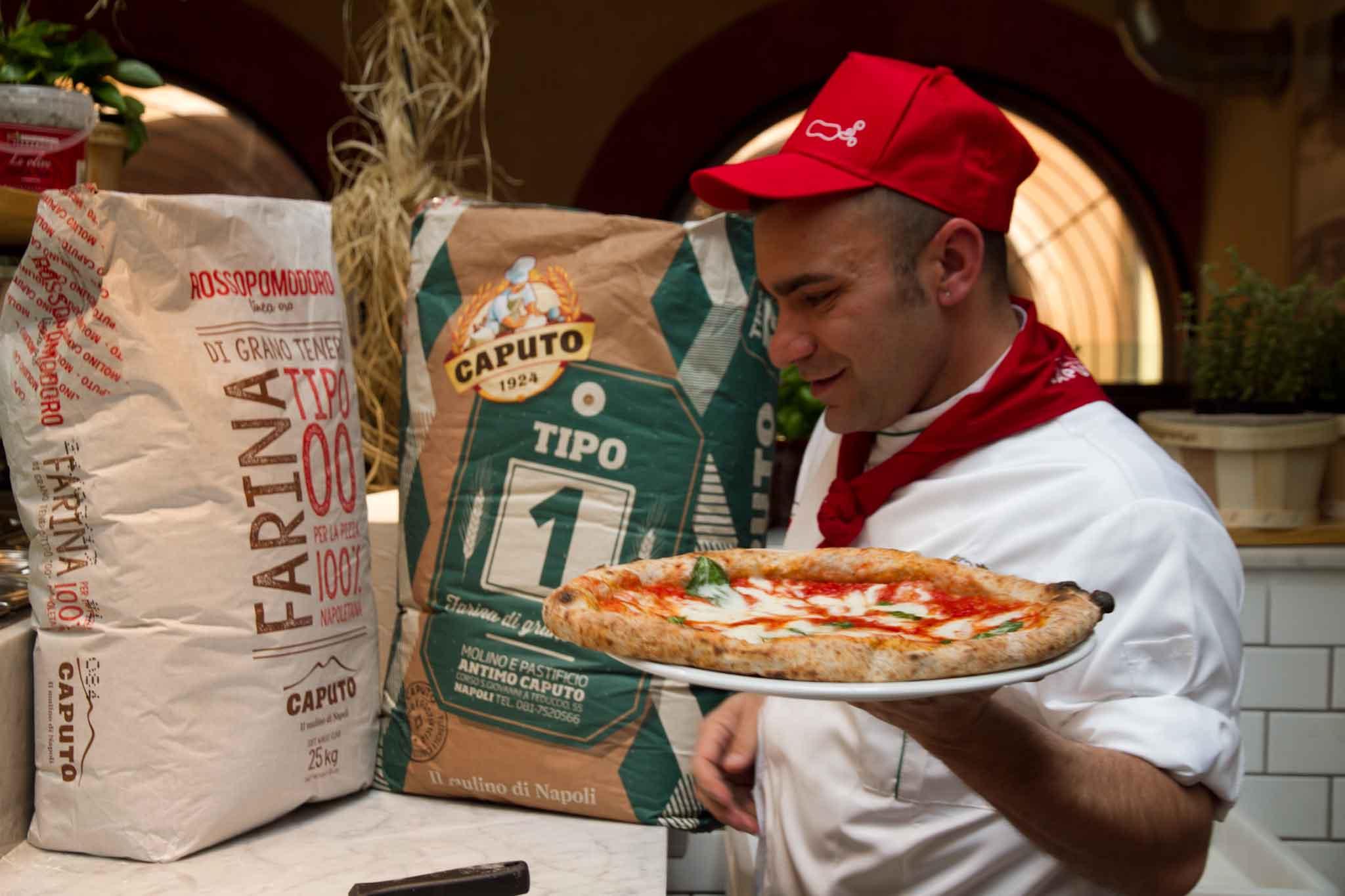 pizza Margherita impasto farina 1