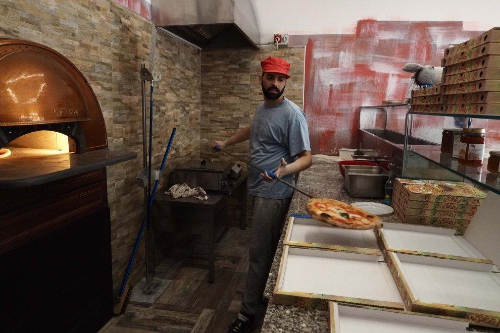 pizza Masaniello Bologna