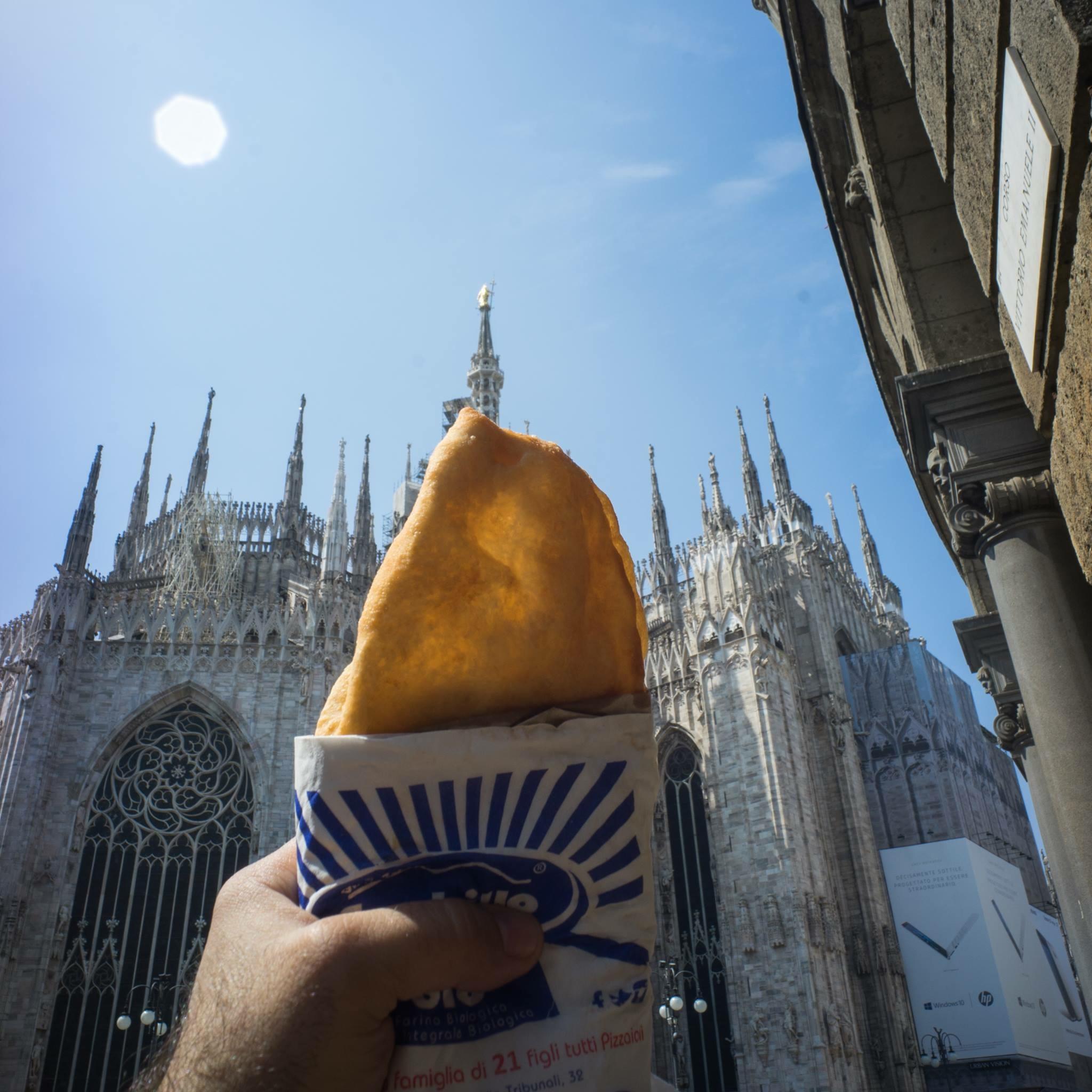 pizza fritta Gino Sorbillo Milano