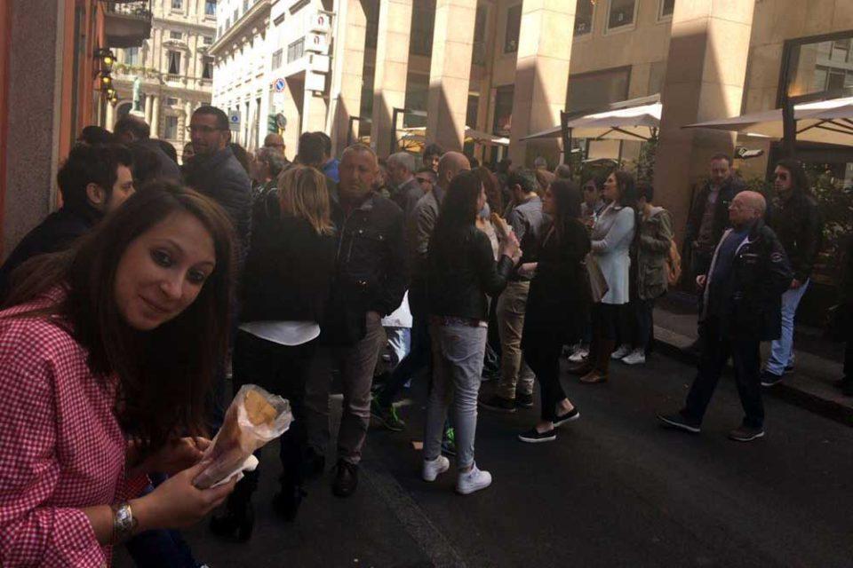 pizza fritta Milano Sorbillo Ubaldi