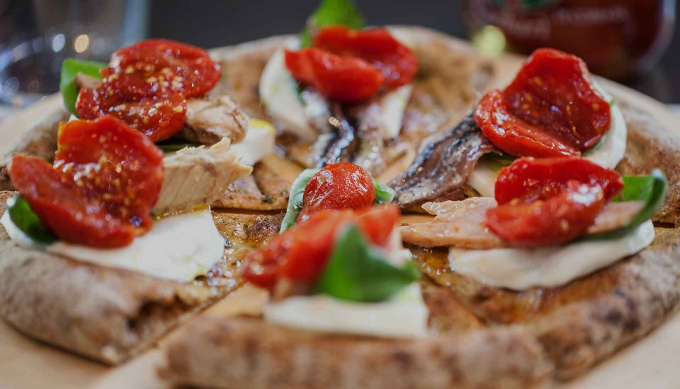pizza gourmet Lievità