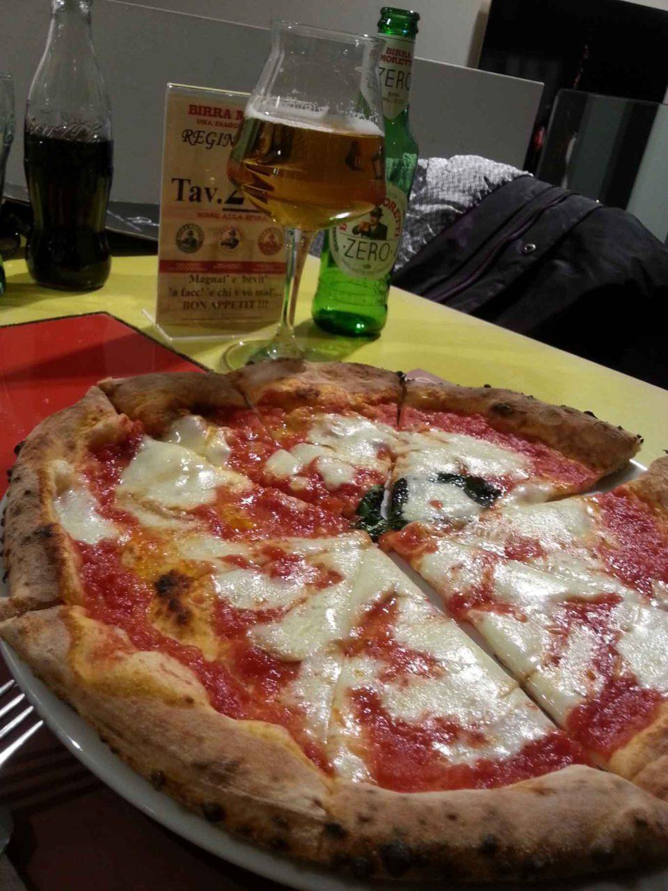 pizza margherita Donna Sofia Bologna