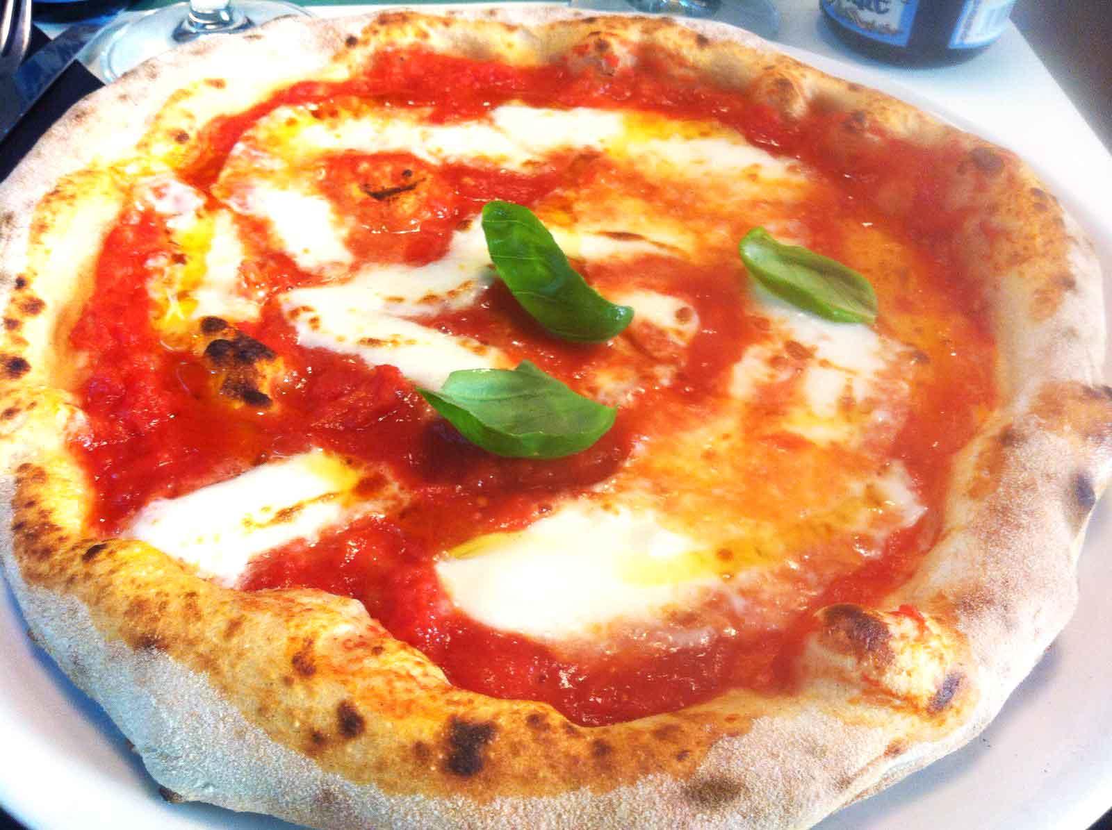 pizza margherita Lievità