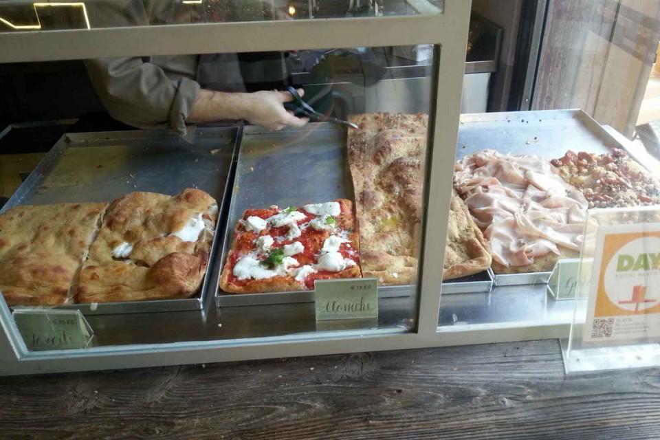 pizza o fiore mio Bologna