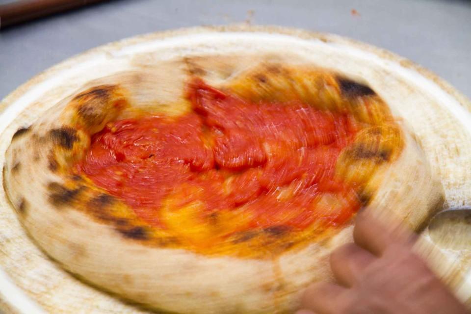 pizza pomodoro ruota