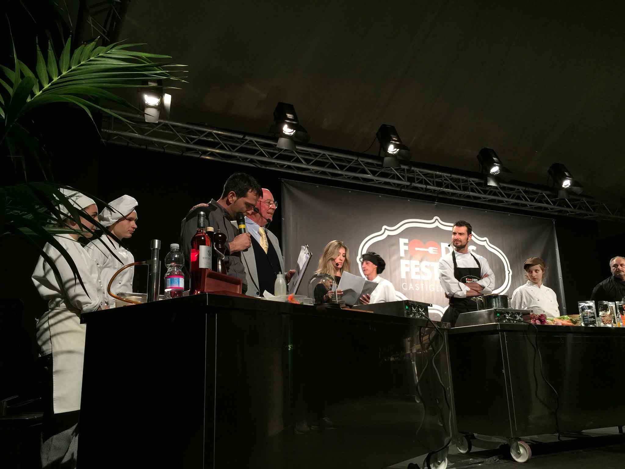 show cooking Foodies Festival 2016
