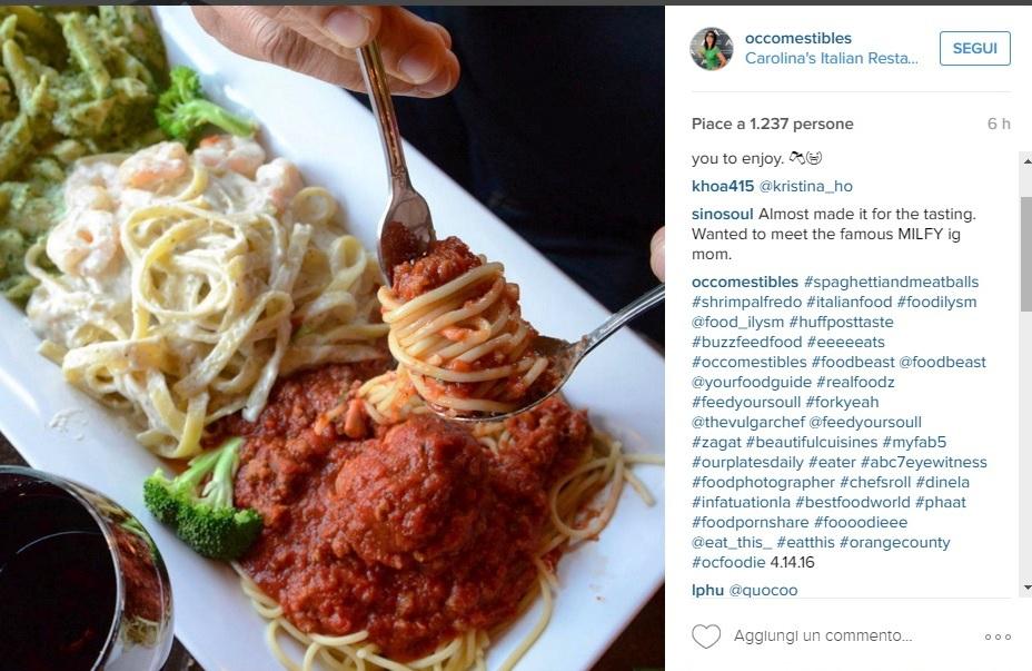spaghetti polpette #italianfood