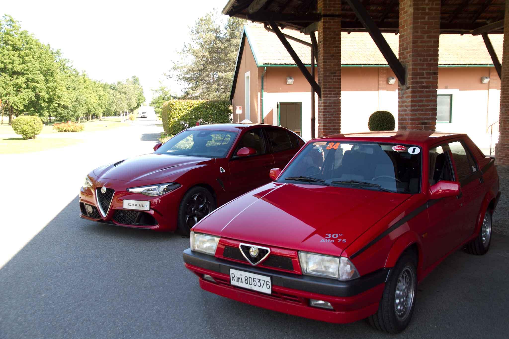 Alfa Romeo 75 e Giulia