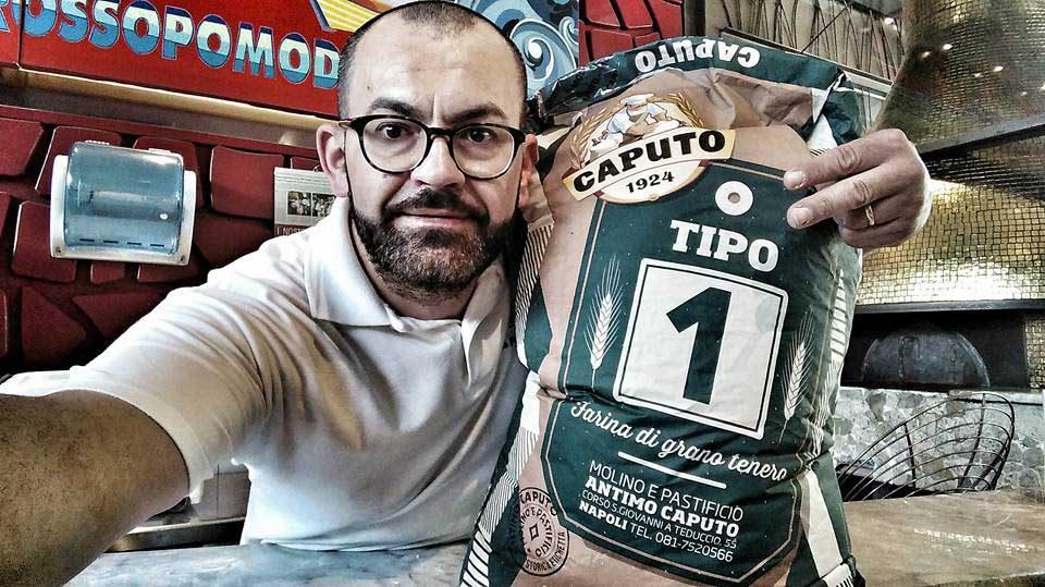 Angelo Pezzella farina Caputo