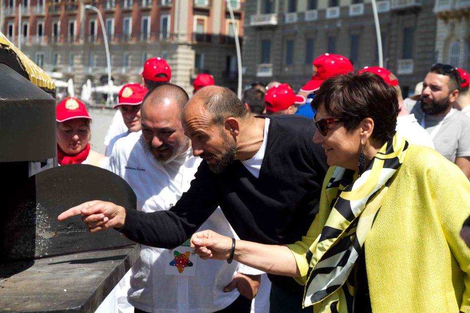 Franco Manna Tiziana Premoli pizza più lunga del mondo