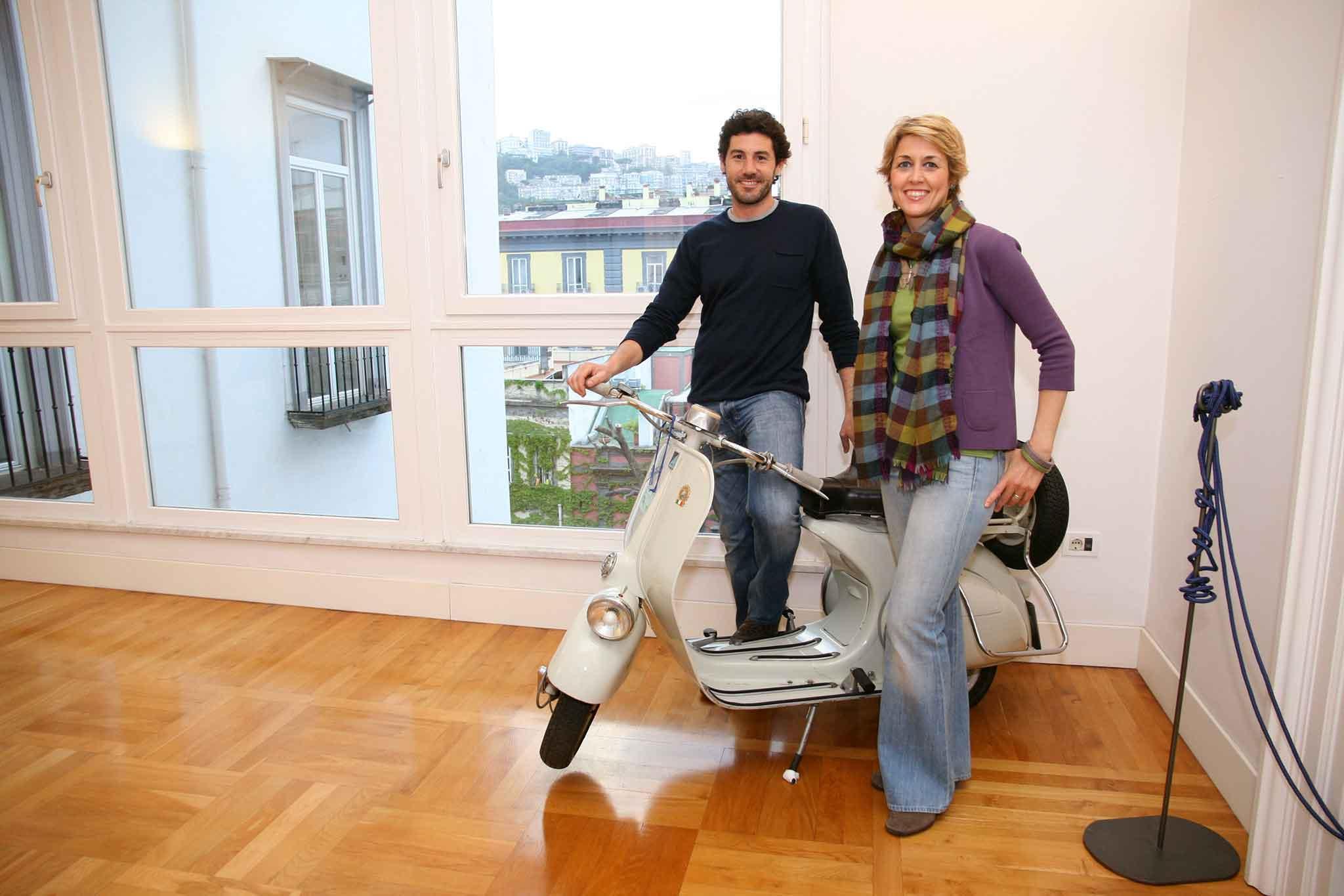 Massimo Napolitano Cristina Falco hotel Bellini Napoli