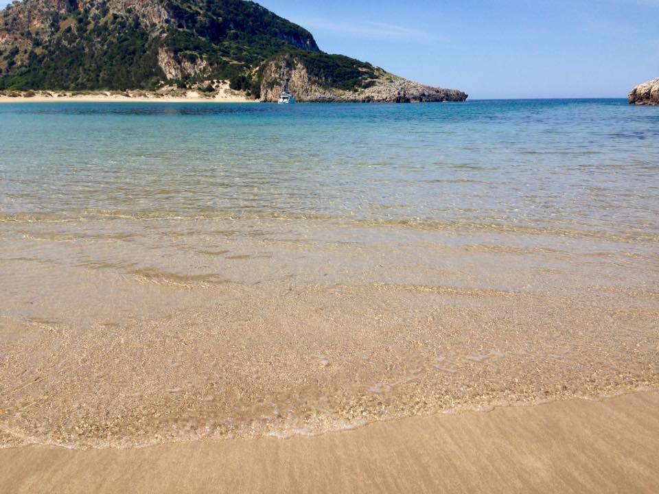 Voidokilia spiaggia Grecia