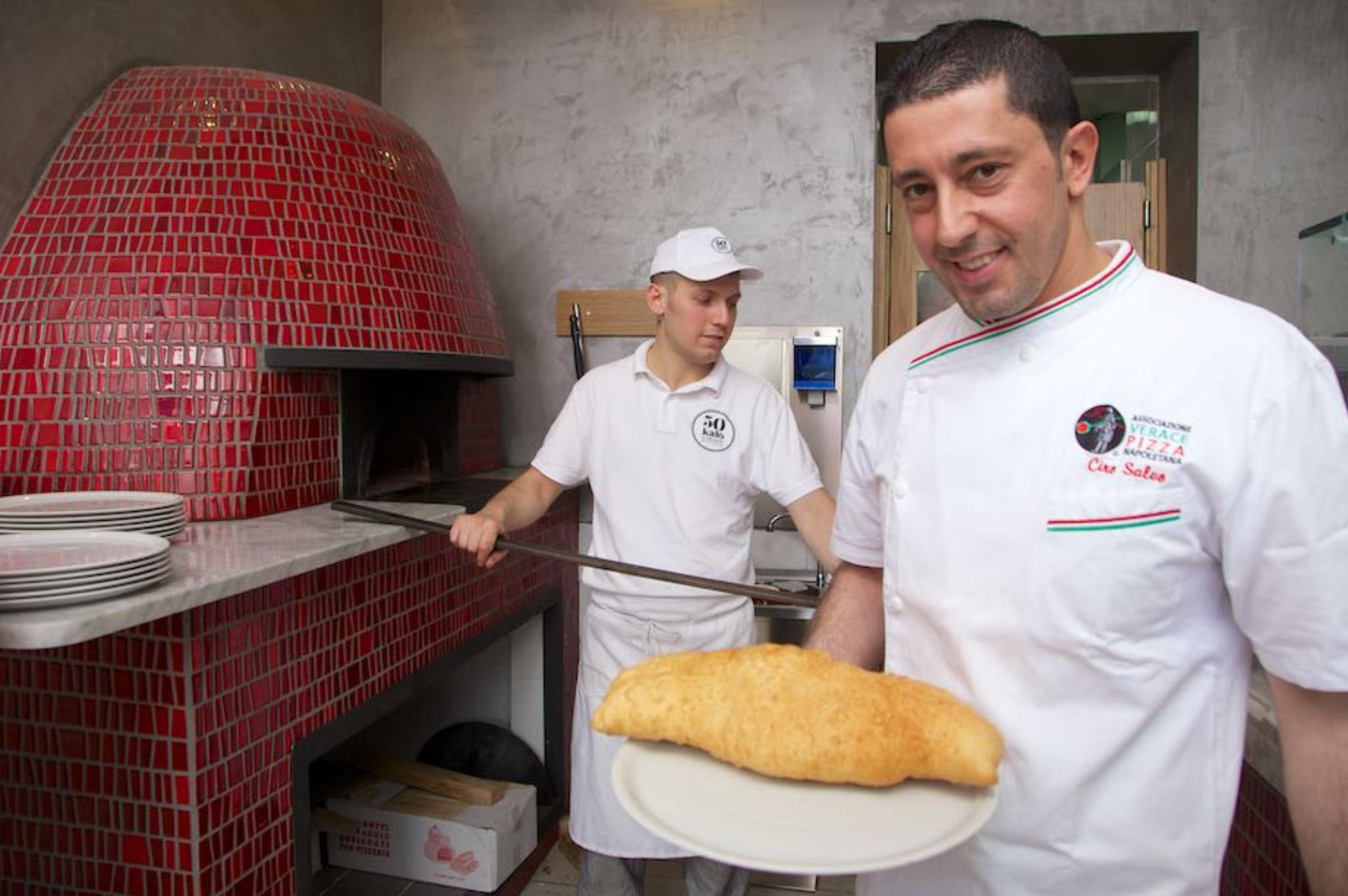 ciro salvo pizza fritta