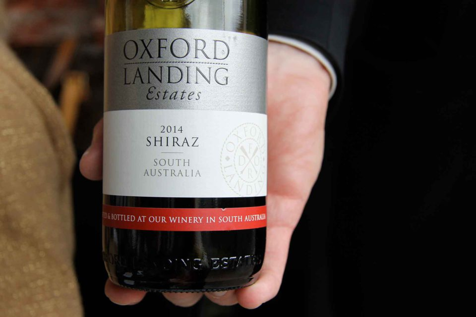 gong milano vino Shiraz australia