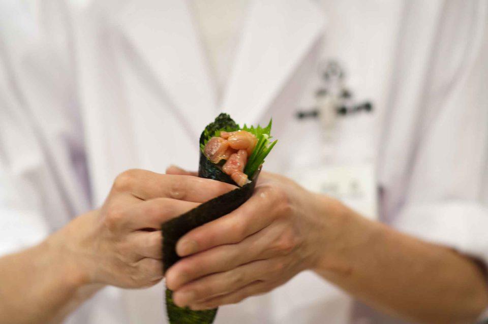 guida arte del sushi