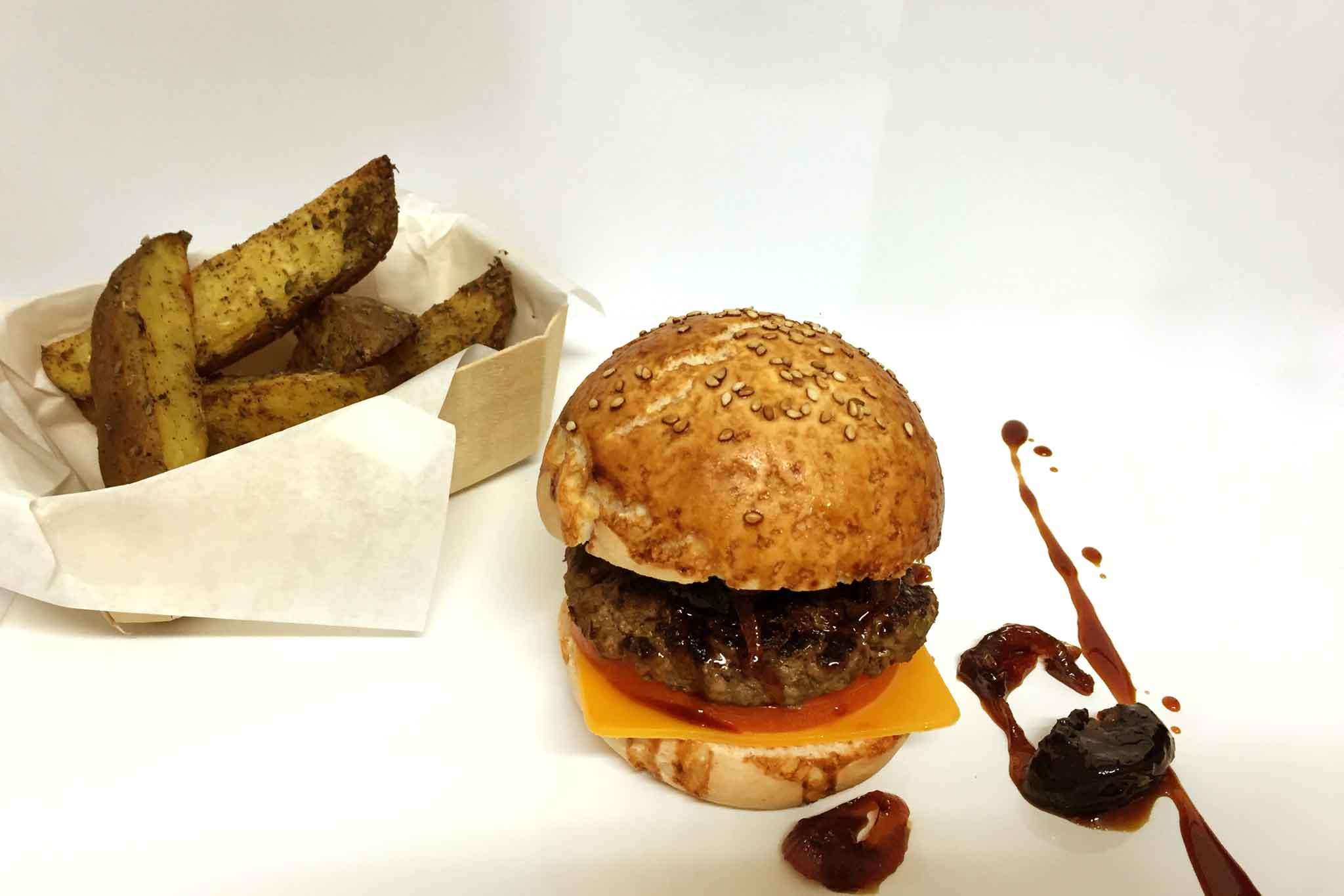 hamburger gluten free