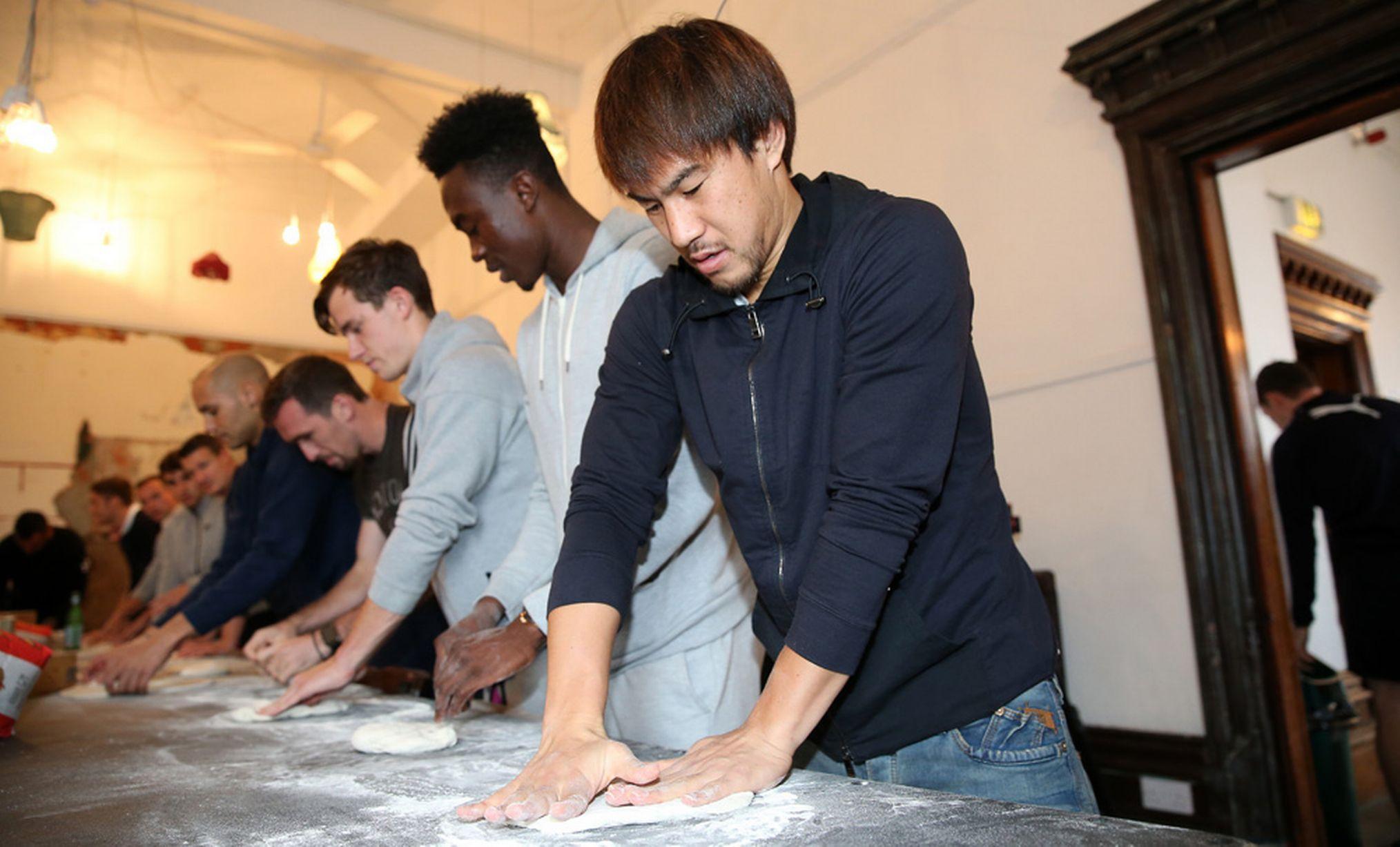hinji Okazaki Leicester impasta pizza